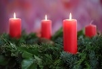 Adventskranz, dritter Advent